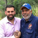 Mareeba men's camp - with Ernie Dingo