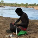 kowanyama Aboriginal men's camp - cultural activities