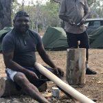 Cooktown men's camp, cultural activities